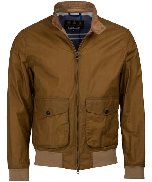 Men's Barbour Erne Waxed Jacket - Sand