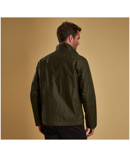 Men's Barbour Lightweight Admiralty Waxed Jacket - Archive Olive