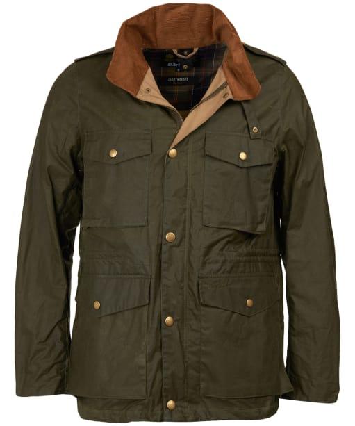 Men's Barbour Lightweight Orel Waxed Jacket - Archive Olive