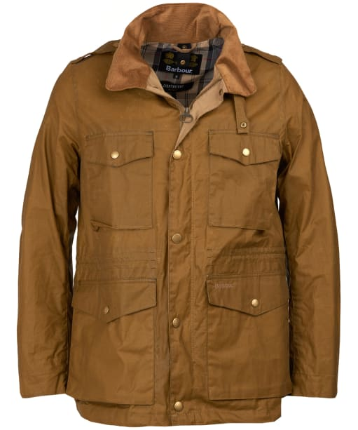 Men's Barbour Lightweight Orel Waxed Jacket - Sand