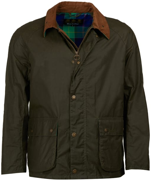 Men's Barbour Glen Waxed Jacket - Archive Olive