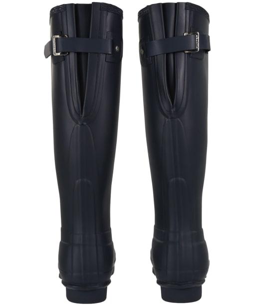 Women's Hunter Original Back Adjustable Wellington Boots - Navy