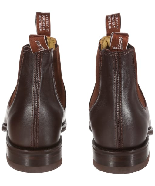 Men's R.M. Williams Dynamic Flex Craftsman Boots - H Fit - Chestnut