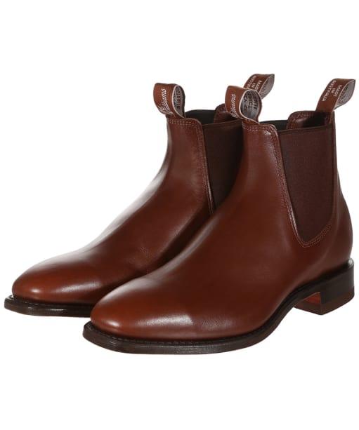 Men's R.M. Williams Classic Craftsman Boots - H Fit - Dark Tan