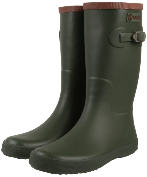 Children's Aigle Perdrix Wellies - Khaki
