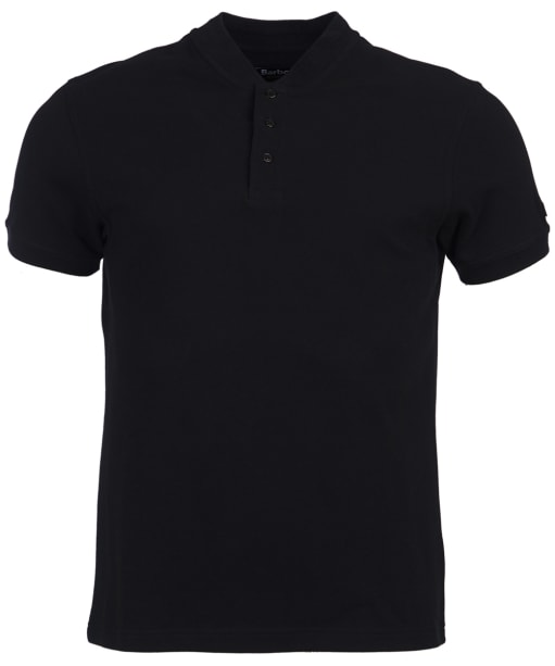 Men's Barbour International Drive Polo Shirt - Black