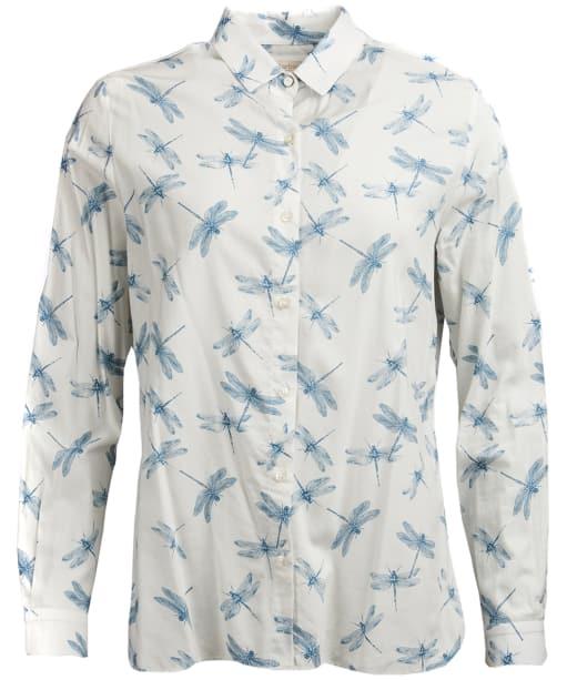 Women's Barbour Bowfell Shirt - White Dragonfly