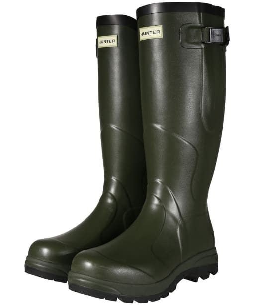 Hunter Balmoral Classic Wellington Boots - Dark Olive