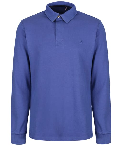 Men's Joules Ruckbury Classic Rugby Shirt - Dark Blue