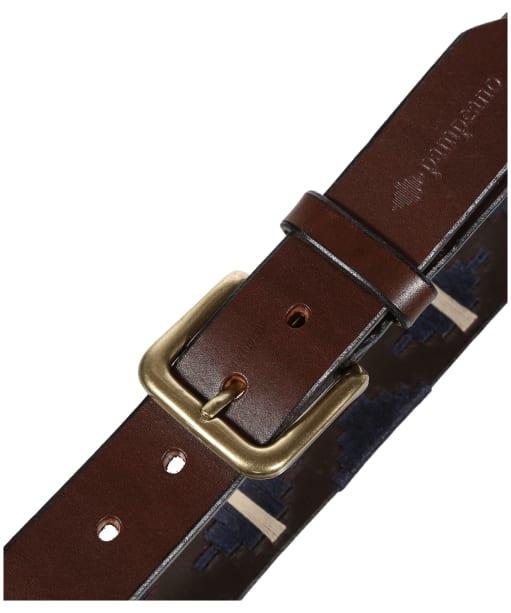 pampeano Leather Polo Belt - Astro