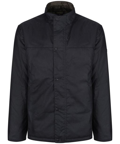Men's Barbour International Peak Wax Jacket - Navy