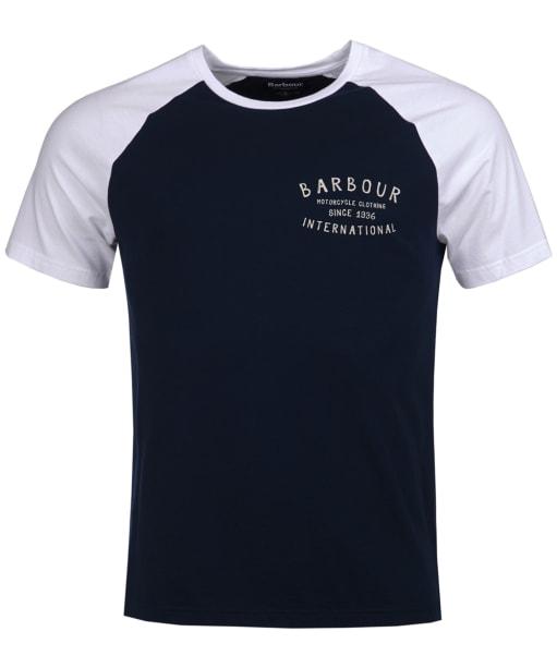 Men's Barbour International Etch Raglan Tee - Navy
