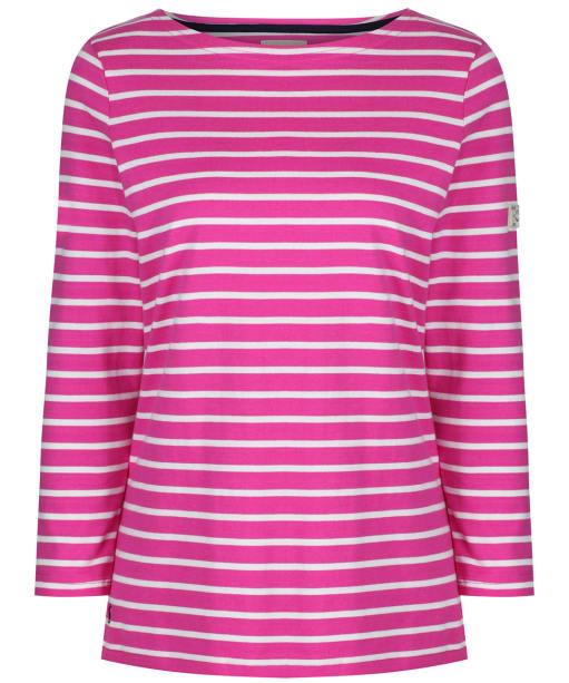 Women's Joules Harbour Top - Pink / Cream Stripe