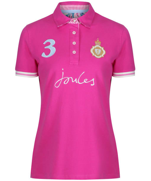 Women's Joules Beaucroft Polo Shirt - Pastel Pink