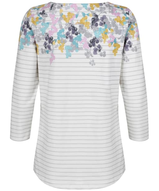 Women's Joules Harbour Printed Top - Grey Ditsy