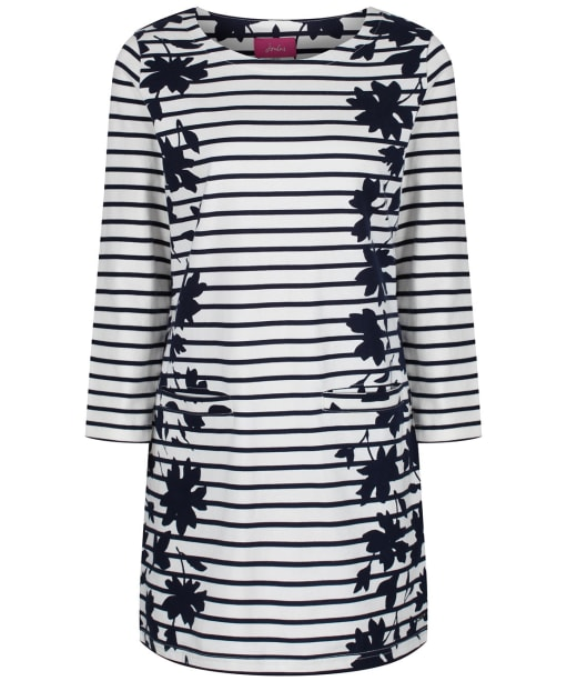 Women's Joules Quinn Tunic Top - Navy Border Floral