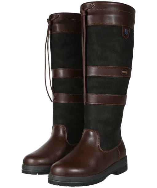Dubarry Galway ExtraFit™ Country Boots - Black / Brown