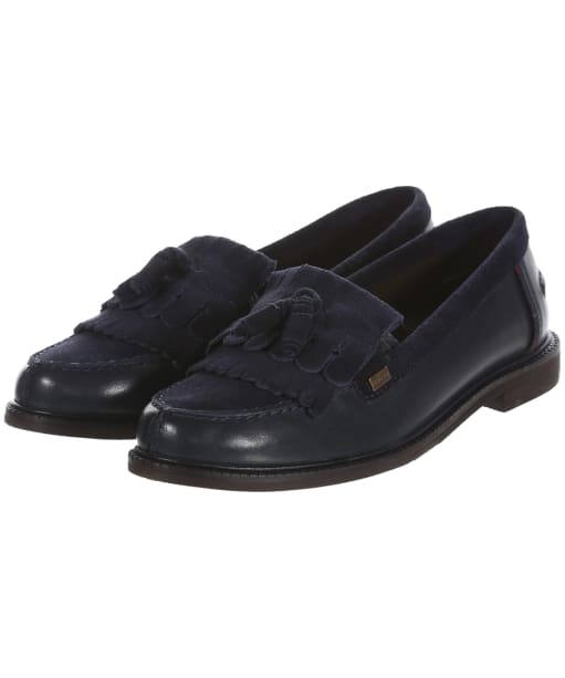 Women's Barbour Olivia Loafers - Navy