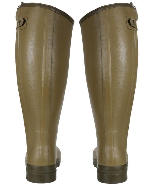 Men's Le Chameau Chasseur Wellington Boots - 46cm Calf - Green