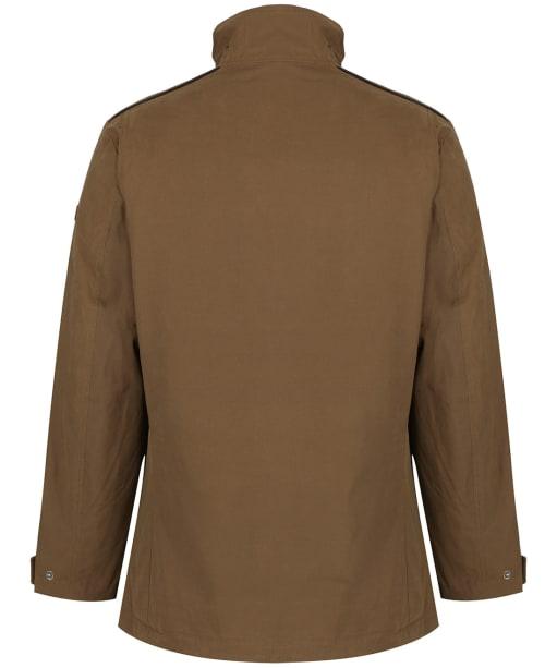Men's Aigle Signature Waterproof Jacket - Brown