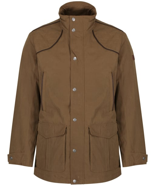 Men's Aigle Signature Waterproof Jacket - Brown