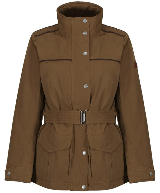 Women's Aigle Parcours Waterproof Jacket - Brown