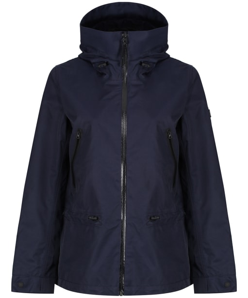 Women's Aigle Retrostarre New Waterproof Jacket - Dark Navy