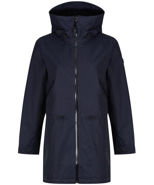 Women's Aigle Brokfielder New Waterproof Jacket - Dark Navy