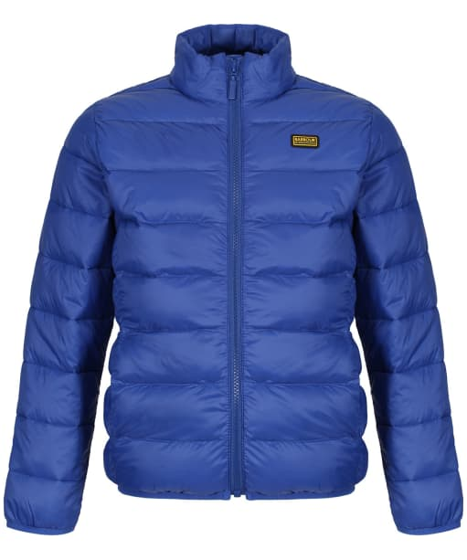 Boy's Barbour International Boys Reed Quilted Jacket, 2-9yrs - Charge Blue