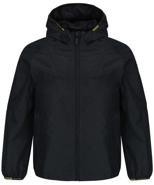 Boys Barbour International Grange Waterproof Parka Jacket, 10-15yrs - Black