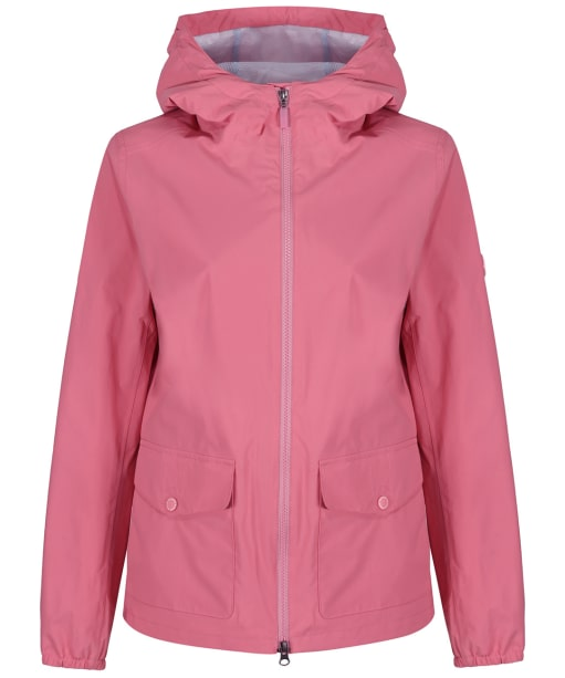 Women's Barbour Abrasion Packaway Waterproof Jacket - Vintage Rose
