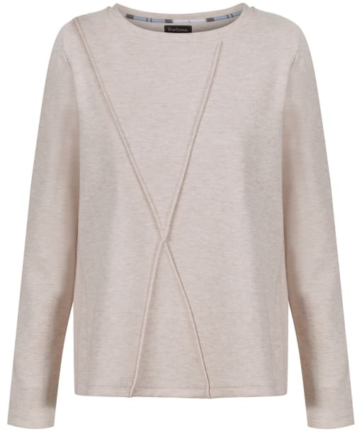 Women's Barbour Highland Sweatshirt - Pale Pink