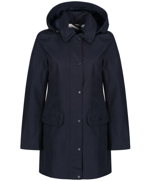 Women's Barbour Undertow Waterproof Jacket - Navy