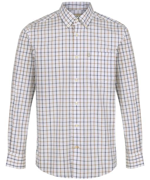 Men's Barbour Tattersall 4 Regular Shirt - Sandstone