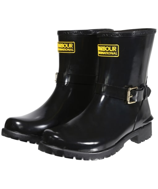 Women's Barbour International Mugello Wellington Boots - Black
