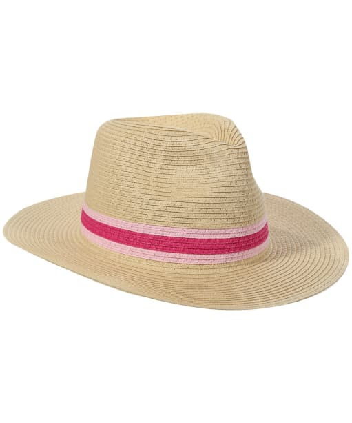 Women's Joules Dora Fedora Hat - Pink Band