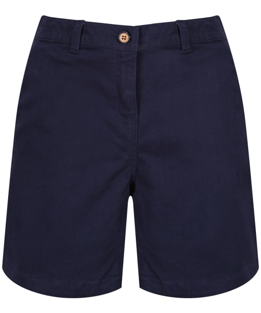 Women's Joules Cruise Mid Thigh Length Chino Shorts - French Navy