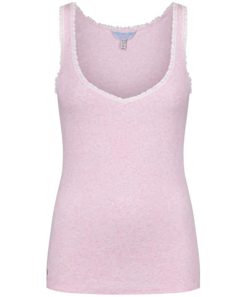 Women's Joules Emmy Pyjama Vest Top - Pink Marl