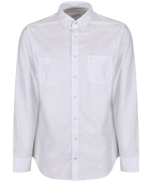 Men's Joules Laundered Oxford Shirt - White