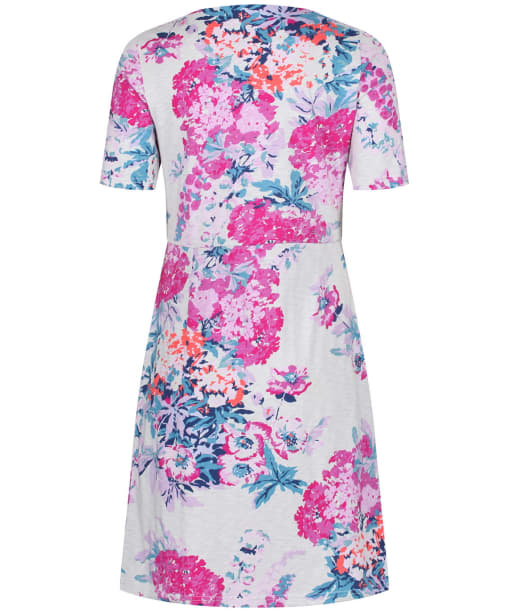 Women's Joules Beth Lightweight Dress - Soft Grey Floral