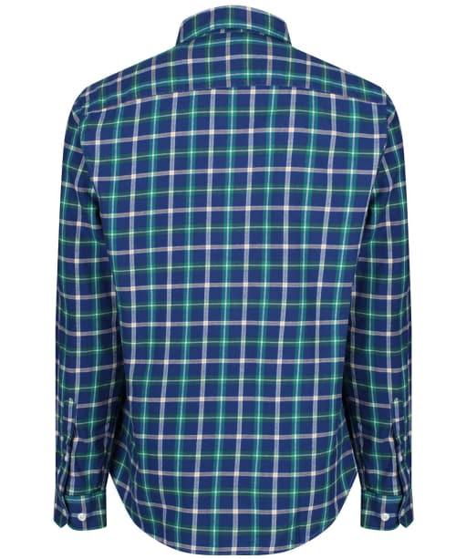 Men's Crew Clothing Anderby Check Shirt - Bright Navy / Botany Green