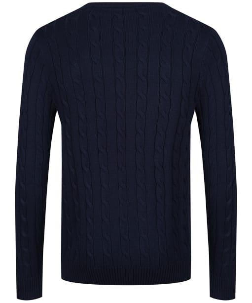 Men's Crew Clothing Regatta Cable Sweater - Navy