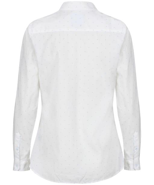 Women's Crew Clothing Lulworth Shirt - White Dot