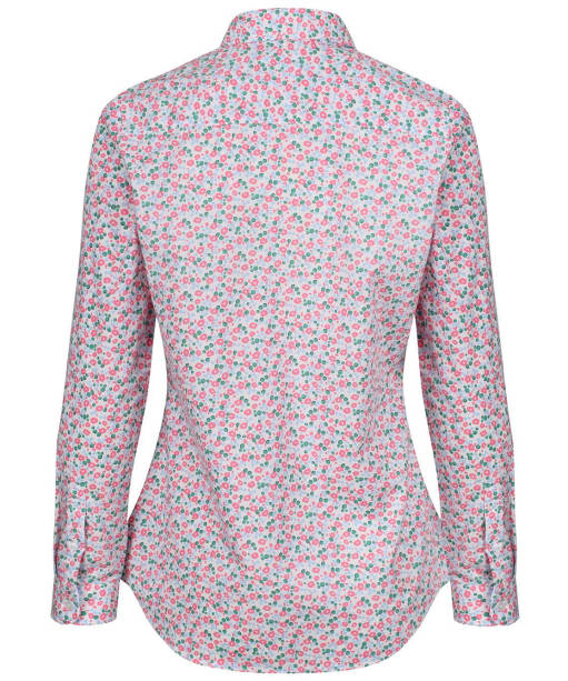 Women's Crew Clothing Lulworth Shirt - Pink Flowerbed