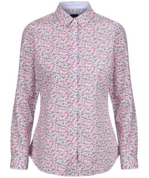 Women's Crew Clothing Lulworth Shirt - Pink Flowerbed