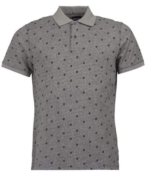 Men's Barbour Thornwaite Polo Shirt- Grey Marl