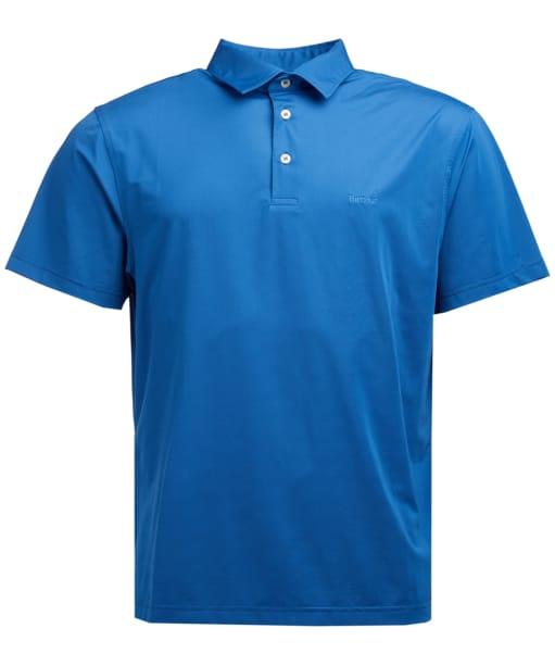 Men's Barbour Performance Polo Shirt - Cobalt Blue
