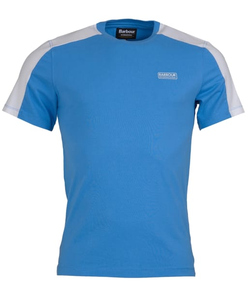 Men's Barbour International Temp Panel Tee - Vivid Blue