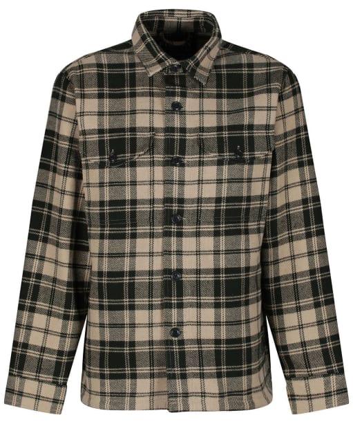 Men's Filson Deer Island Jac-Shirt - Dark Cream / Green