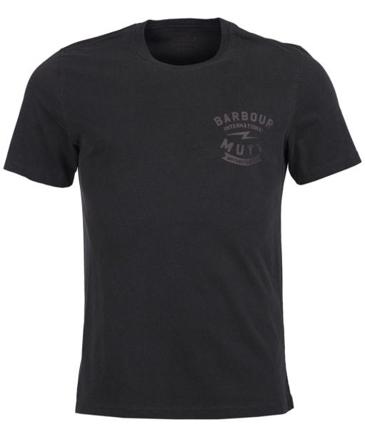 Men's Barbour International Mutt Tee - Black